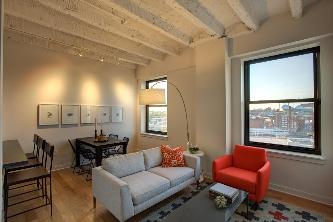 With Beautiful Livings Spaces, Striking Views And Endless Attractions  Nearby, Life At Pershing Lofts Is The Best Of All Worlds.